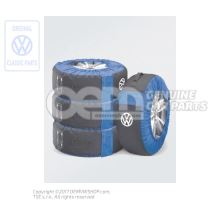 set of wheel bags