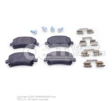 1 set of brake pads for disk brake 1K0698451G