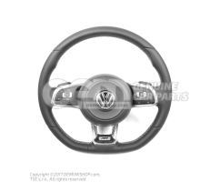R / Rline steering wheel with airbag, multifunction and paddle shifters