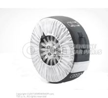 Protective bag for complete wheels with installation code 4F0071156