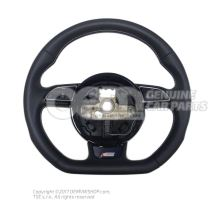 Steering wheel soul (black)/titanium 8K0419091CGIWQ