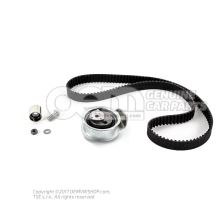 Repair kit for toothed belt with tensioning roller 06B198119A