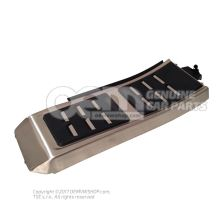 Cover for footrest aluminium 4G1864777A 3Q7