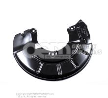 Cover plate for brake disc 6R0615312A