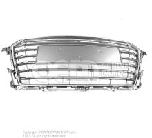 Radiator grille platinum grey 8S0853651A 1RR