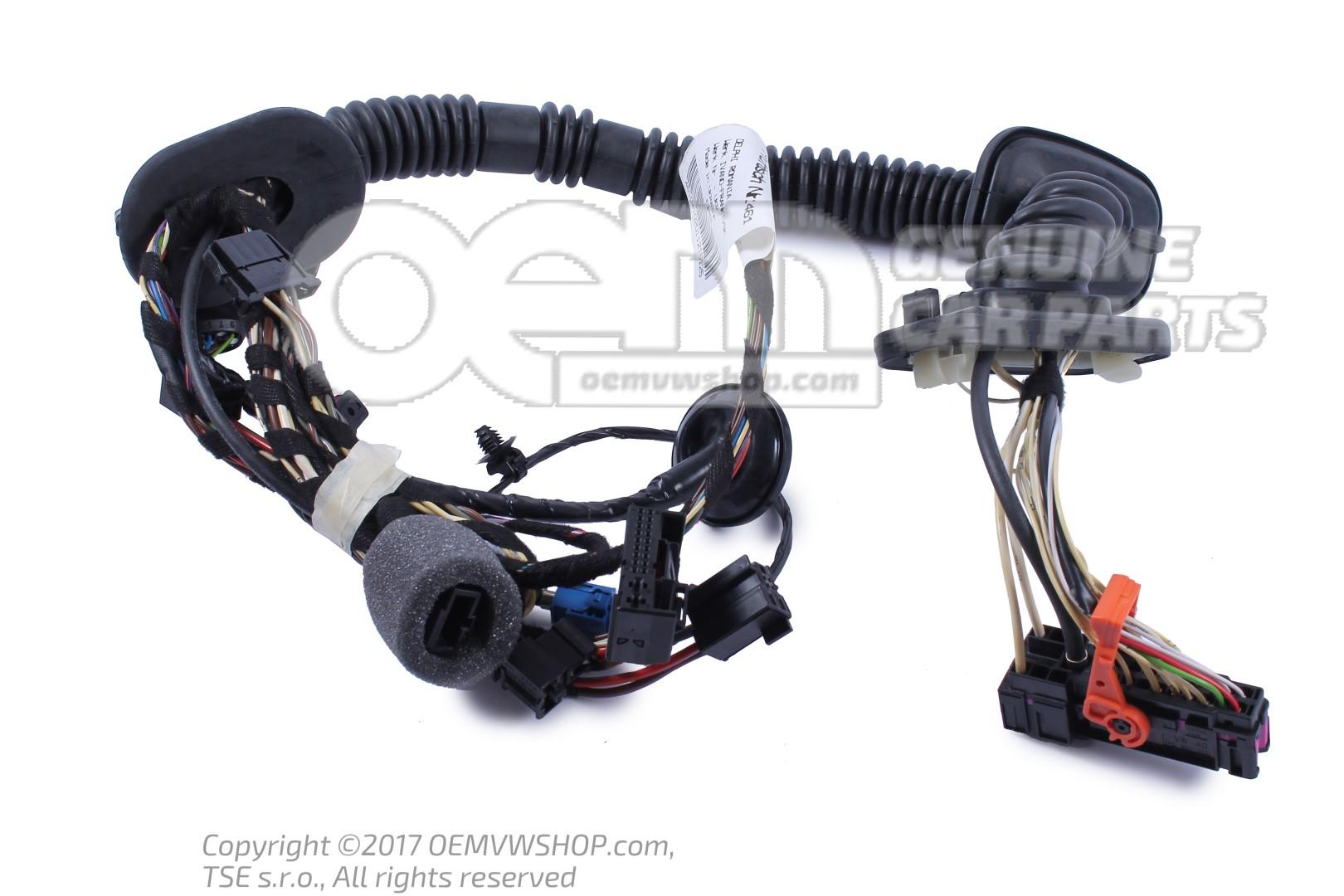 Wiring set for door vehicle