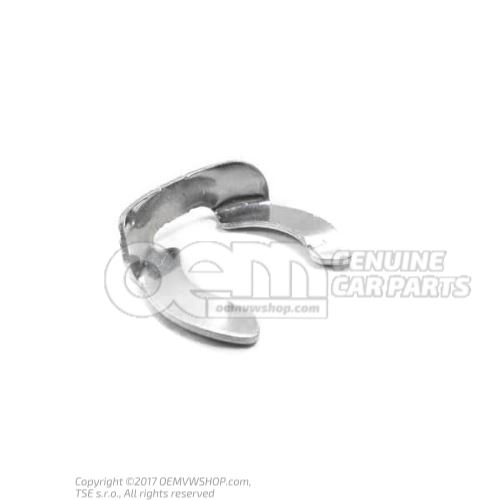 Securing clip retaining washer 1J0711280C