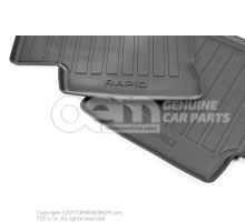 1 set foot mats (rubber) 5JB061550