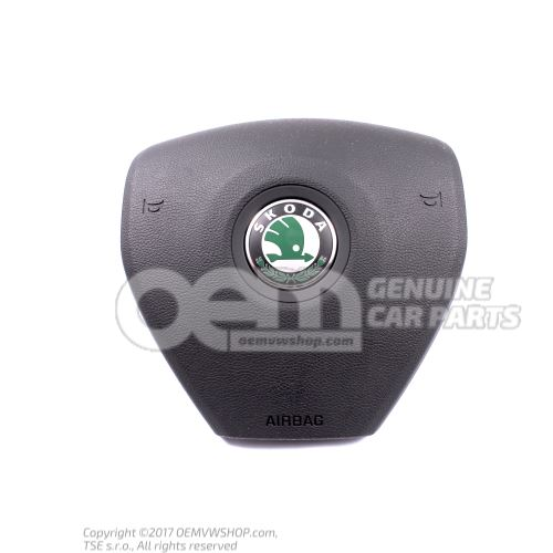 Airbag unit for steering wheel Black