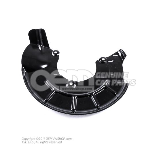 Cover plate for brake disc 6R0615311A