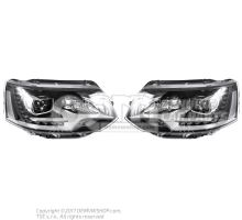 Genuine Volkswagen Multivan LED Bixenon leadlights kit - LHD