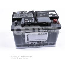 Battery with state of charge display, full and charged JZW915105A