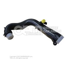 Air hose for vehicle use in cold climates 1K0129654AK