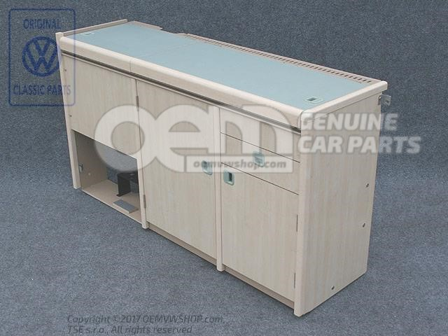 Cooker-sink Combination Kitchen Cabinet 701070138T