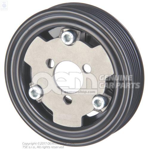 Poly v belt pulley 037121030a for Poly v belt for mercedes benz