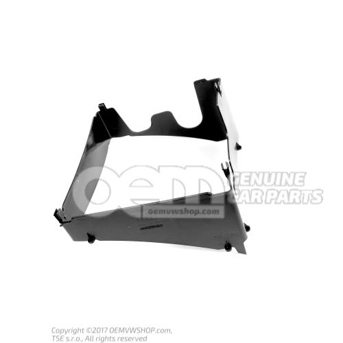 Air guide right rear 8S0117340