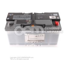 Battery with state of charge display, full and charged JZW915105E