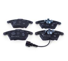 1 set of brake pads with wear display for disc brakes JZW698151B