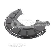 Cover plate for brake disc right 1K0615312F