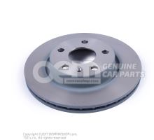 Brake disk (vented) \eco\ JZW615301A