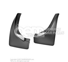 1 set: mud flaps (left and right) KEA710001