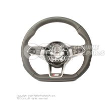 Multifunct. sports strng wheel (leather) soul (black)/cliff grey