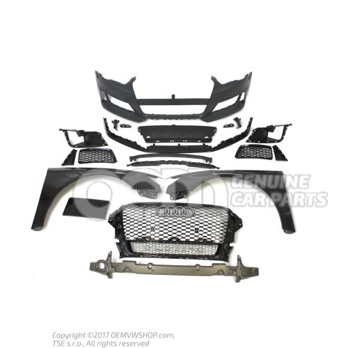 OEM genuine Audi RS3 8V 2013-2016 conversion kit