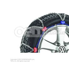 1 set of snow chains 000091387AB