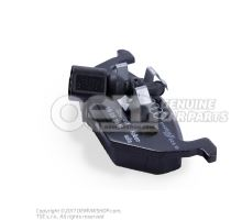 1 set: brake pads with wear indicator for disc brake 1J0698151G