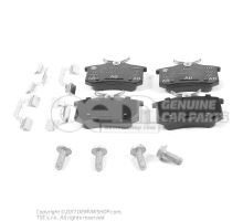1 set of brake pads for disk brake 1J0698451K
