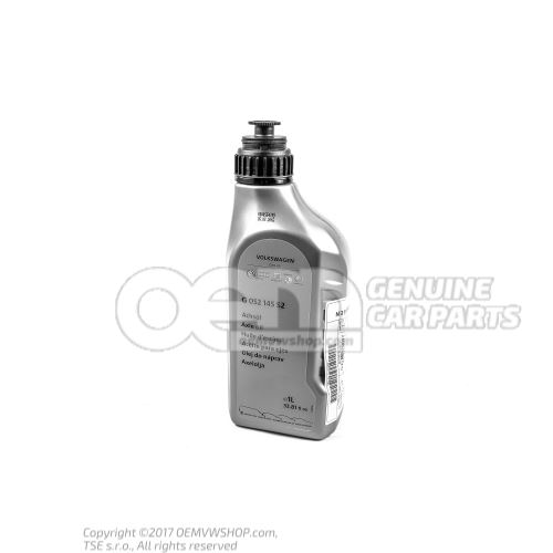 Axle oil for final drive G 052145S2