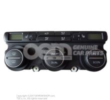 Display and control panel with cu for electronically controlled air-conditioning 1K0907044BN