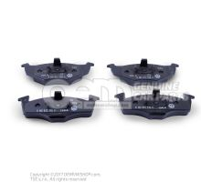 1 set of brake pads for disk brake 6N0698151C