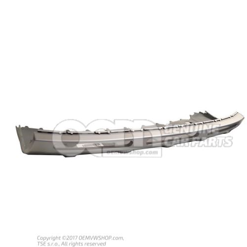 Bumper cover aluminium silky smooth 1Z0807733 U34