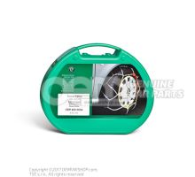 1 set of snow chains CEP400003A